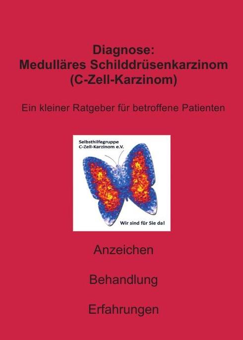 Titelblatt des Ratgebers Diagnose medulläres Schilddrüsenkarzinom