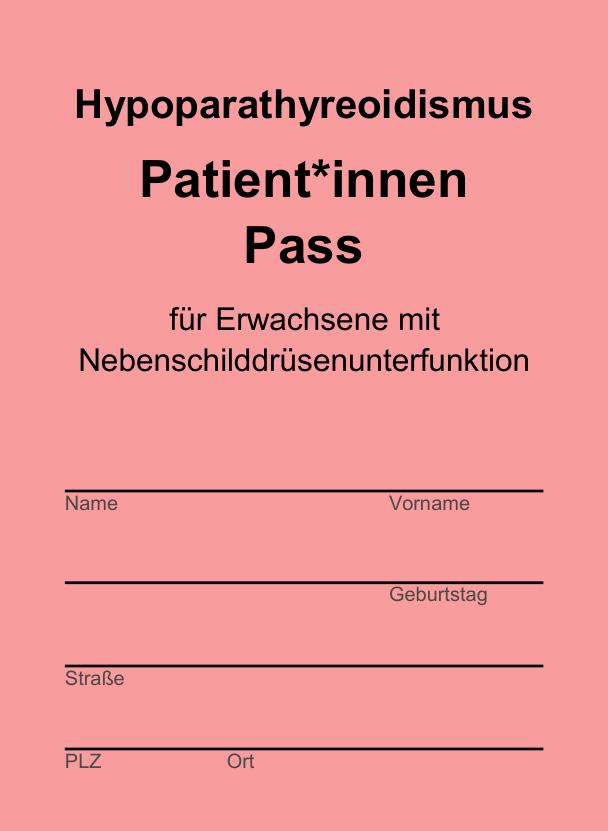 Vorschau Hypopara-Pass