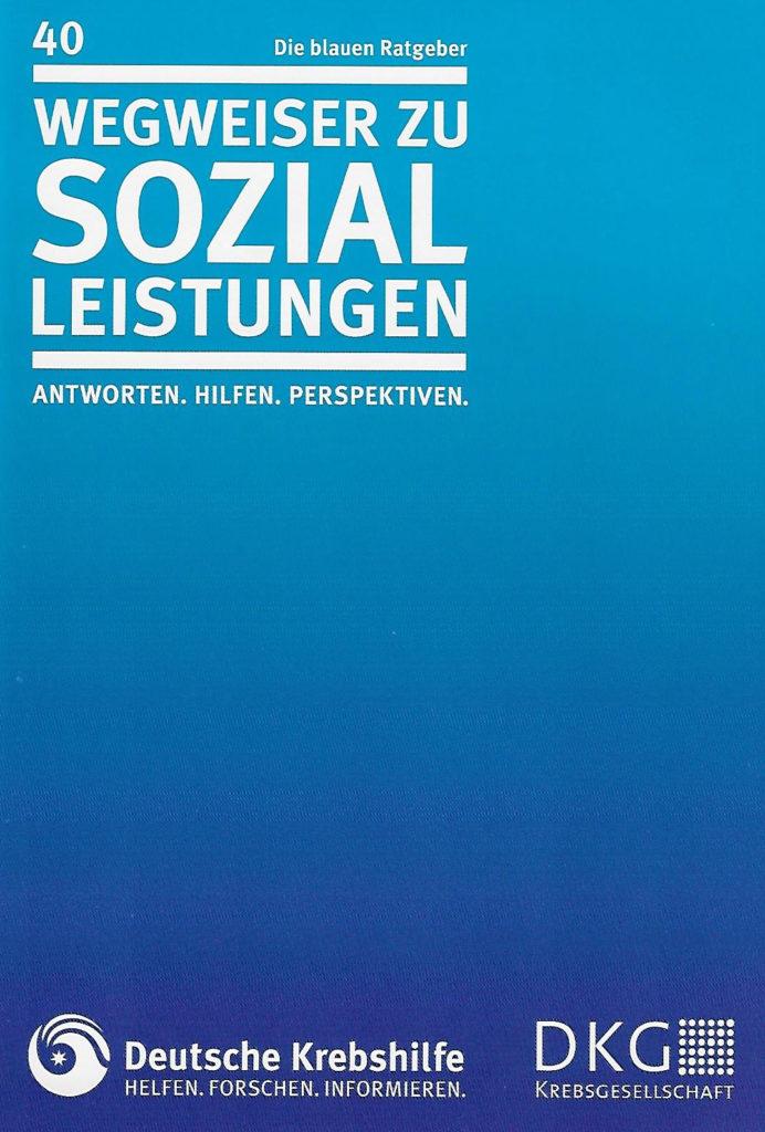 Titelbild der Broschüre Wegweiser Seozialleistungen
