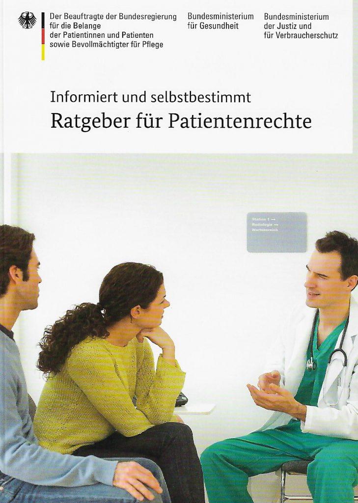 Titelbild des Ratgebers Patientenrechte